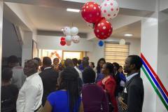 Lelkes nigériai DXN tagos a lagos-i nyitóünnepségen