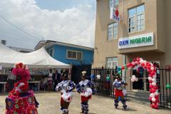 DXN Nigéria piacnyitási ünnepség az lagos-i iroda előtt