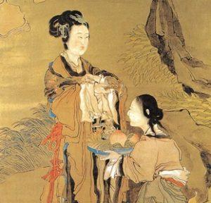Ganoderma gyógygomba, Ren Xun: Magu születésnapi ajándéka