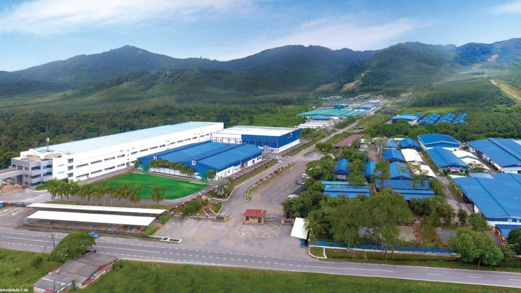A cég malajziai központja a levegőből nézve, a csodálatos DXN Ganoderma hazája