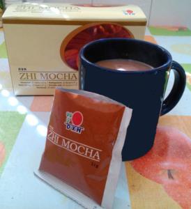 Kakaós Ganoderma kávé: DXN Zhi Mocha