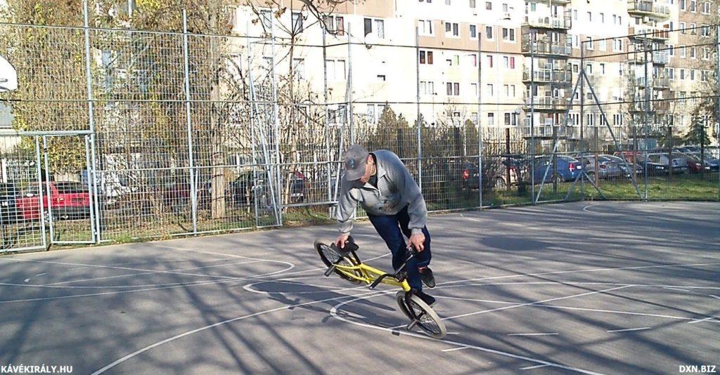 BMX Flatland kerékpározás Budapest, Havanna telep