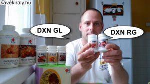 DXN RG és DXN GL Reishi kivonatok