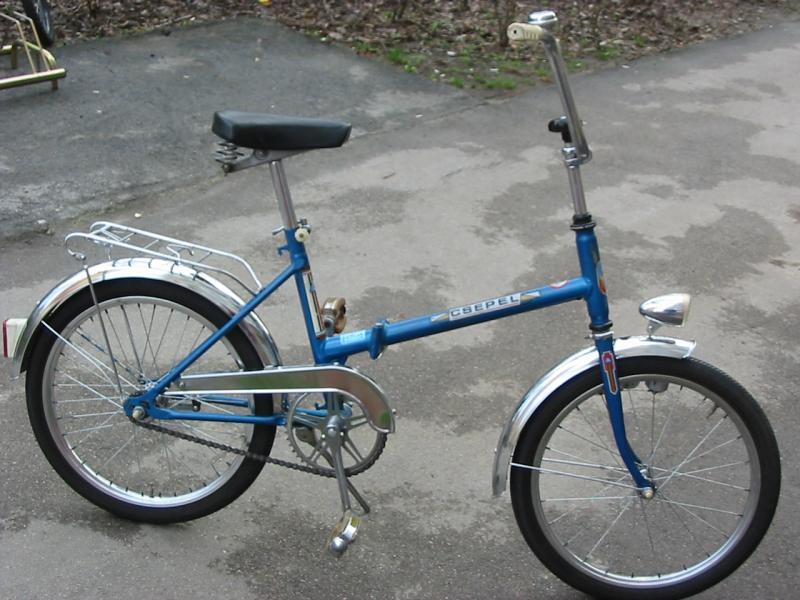 Csillag Csepel összecsukható camping bicikli