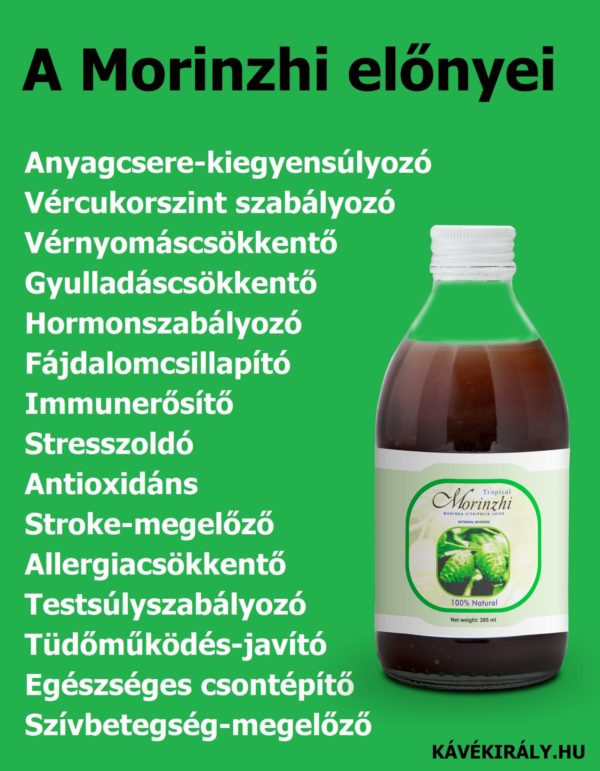 Noni juice (DXN Morinzhi) egészségügyi előnyei