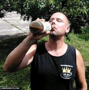 Noni juice ivás fa alatt: DXN Morinzhi Megadózis