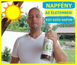 DXN Daily Morinzhi: noni gyümölcslé ivás élvezettel