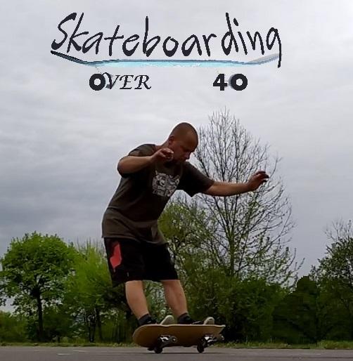 Coconut wheelie old school skateboarding trick by Skateboarding over 40