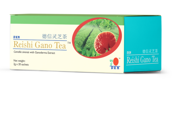 Ganoderma tea lúgosításhoz és frissességhez: DXN Reishi Gano Tea