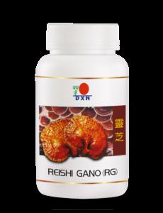 Vörös Reishi kapszulák a DXN-től a hatékony lúgosításhoz és méregtelenítéshez