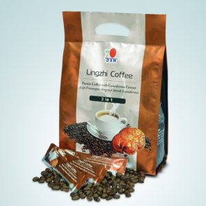 A DXN Lingzhi 3 az 1-ben kávé a legnépszerűbb Ganoderma gyógygomba kivonatos DXN kávé