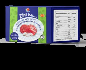 Cukormentes Ganoderma gyógygombás mentolos cukorka a száj egészségéhez és a jó lehelethez, kiegyensúlyozott PH értékkel.
