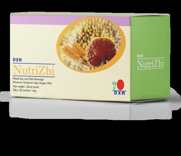 A DXN Nutrizhi tápláló lúgosító Ganoderma kivonatos szója fitnesz ital