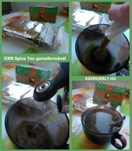 Hogyan készítsük el otthon a DXN Spica Teát?