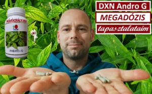 DXN Andrographis paniculata gyógynövény kapszulát fogyasztottam Megadózisban
