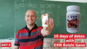 DXN MLM üzletes tanár az iskolában DXN RG porral