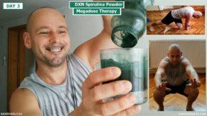 Edzés és DXN Spirulina turmix