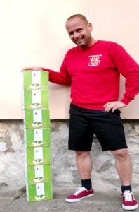 Hét doboz DXN Apple Enzyme Ital