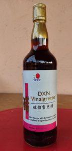 Vörös rizs élesztőből készült rizsecet Reishi gombakivonattal a DXN-től gyönyörű üvegben